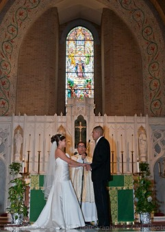 Our Lady of Grace Wedding Ceremony ~ J & JC