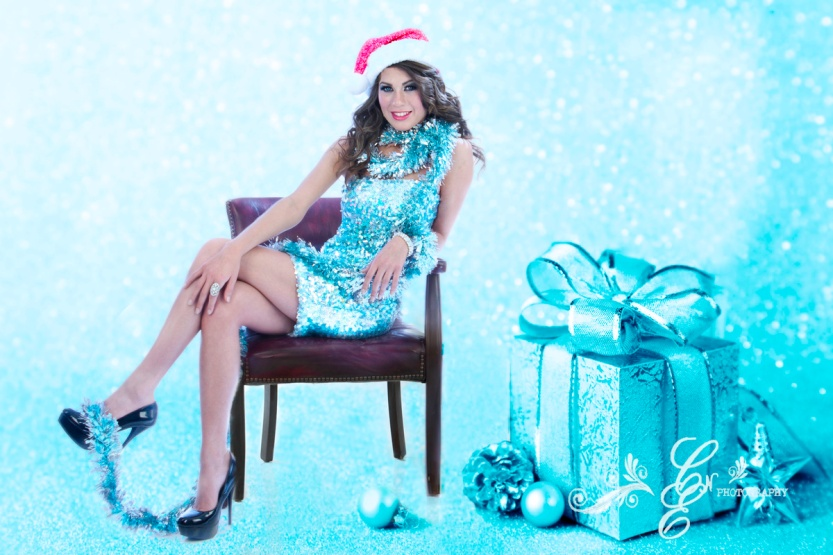 Marisol Romo, Miss Hispano Indiana, Christmas Photo-shoot, CNE Photography