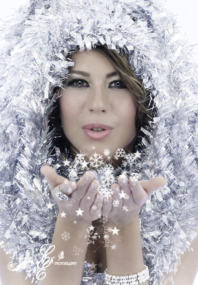 Marisol Romo, Miss Hispano Indiana, Christmas Photo-shoot, CNE Photography