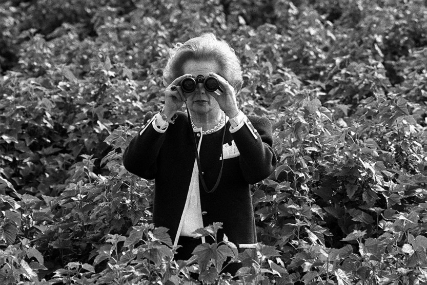 Margaret Thatcher Former Prime Minister of the United Kingdom. Iron Lady, good rest dear.