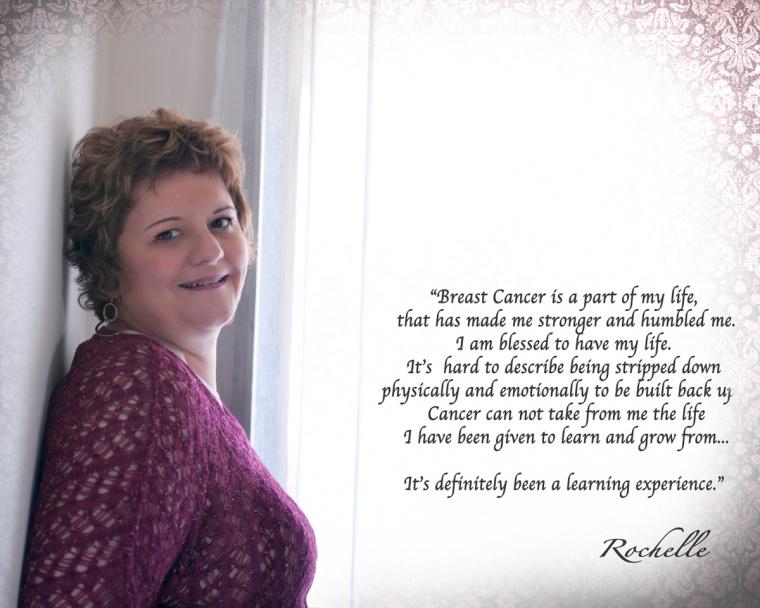 Rochelle BC Survivor Portrait Session