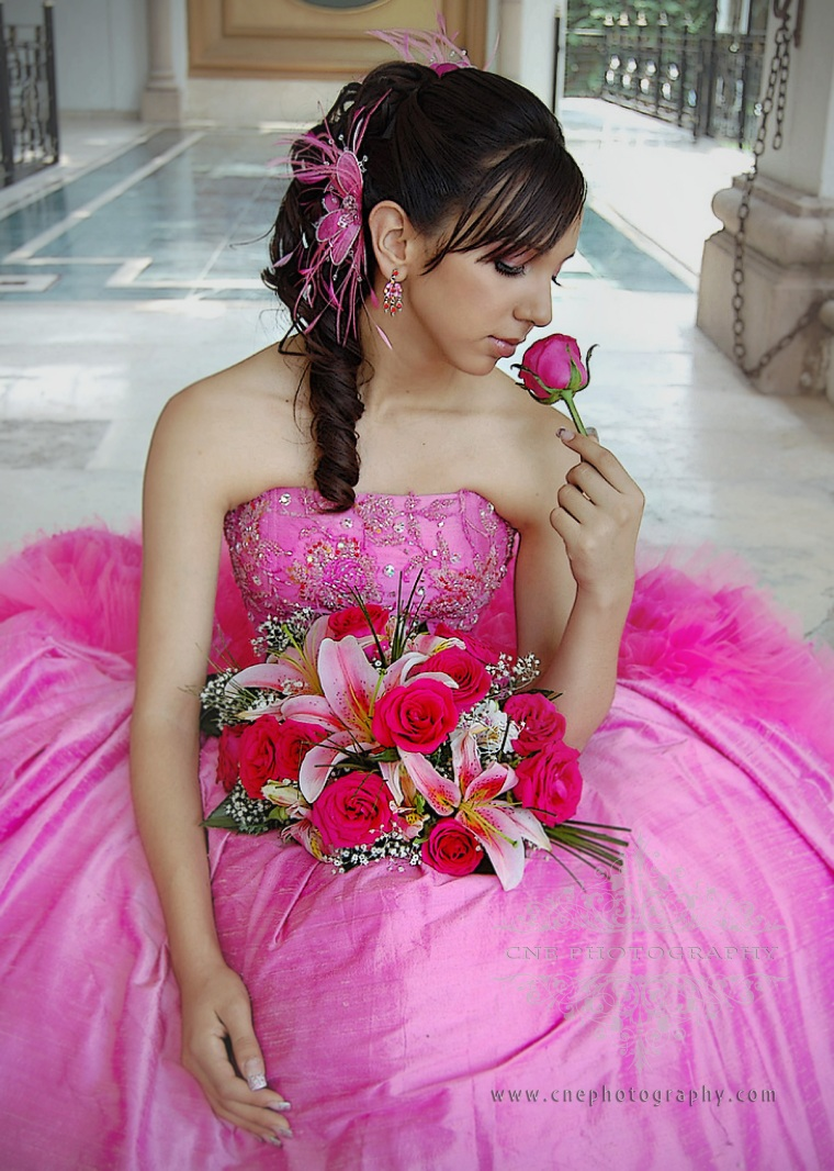 GA Quinceañera Glamour Portrait Session ~ Art Canvas Gallery