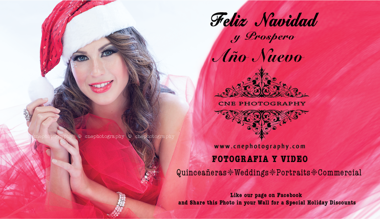 Share his Photo in your wall for Special Holiday discount. FREE 16x20 Canvas when you book your Portrait Session, 20% OFF all our Weddings and Quinceañeras Collections, Reserve your day now! Merry Christmas!