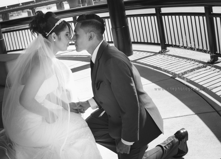 Indianapolis Downtown Wedding ~ Alondra + Edwin